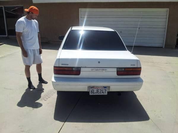Daily Turismo: 1k: Sad Shoeless Man Sells His 1991 Nissan ...