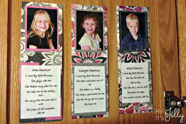 Mother's Day Bookmark | Hi! It's Jilly
