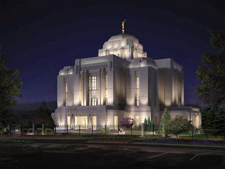 Meridian Idaho Temple