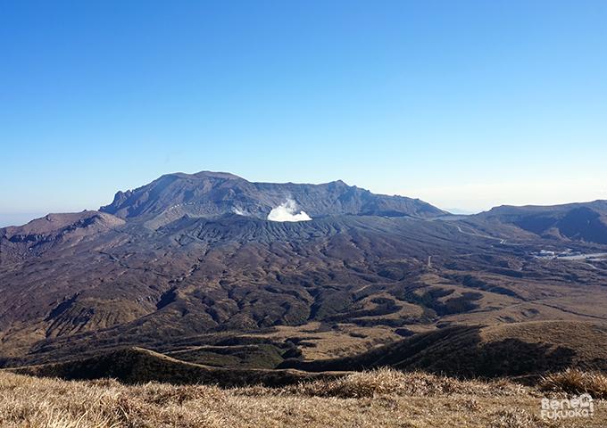 Cratère Naka-dake, Mont Aso