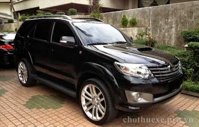 Cho thuê xe Fortuner 2013 theo tháng tại Hà Nội