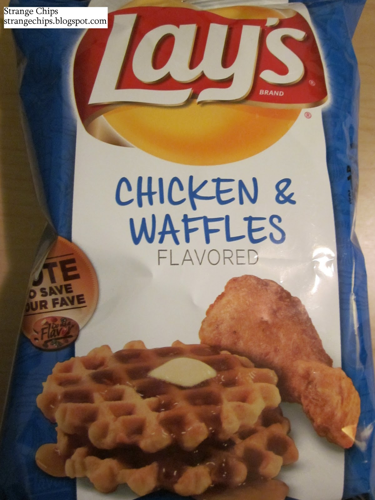 Strange Chips: Lay's Chicken & Waffles