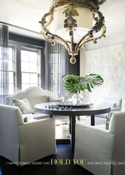 Susan Ferrier is an interior designer with McAlpine Booth & Ferrier  Interiors