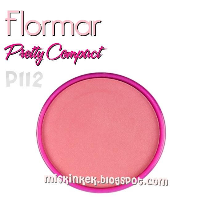 flormar pretty compact blush p112