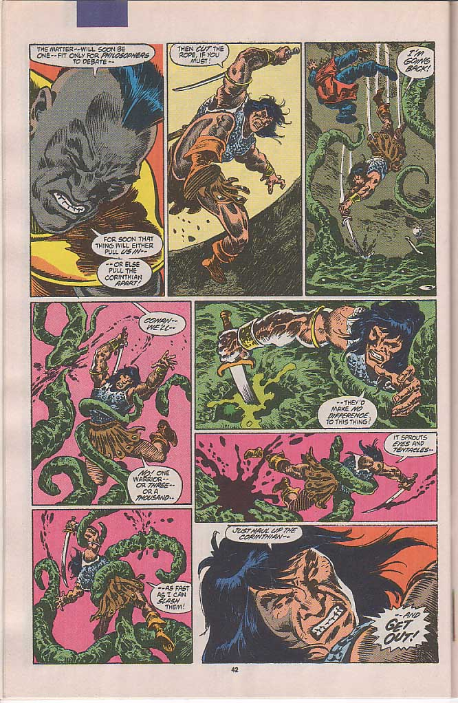 Conan the Barbarian (1970) Issue #250 #262 - English 35