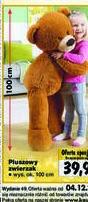 Duży miś w Kauflandzie dla dzieci w grudniu