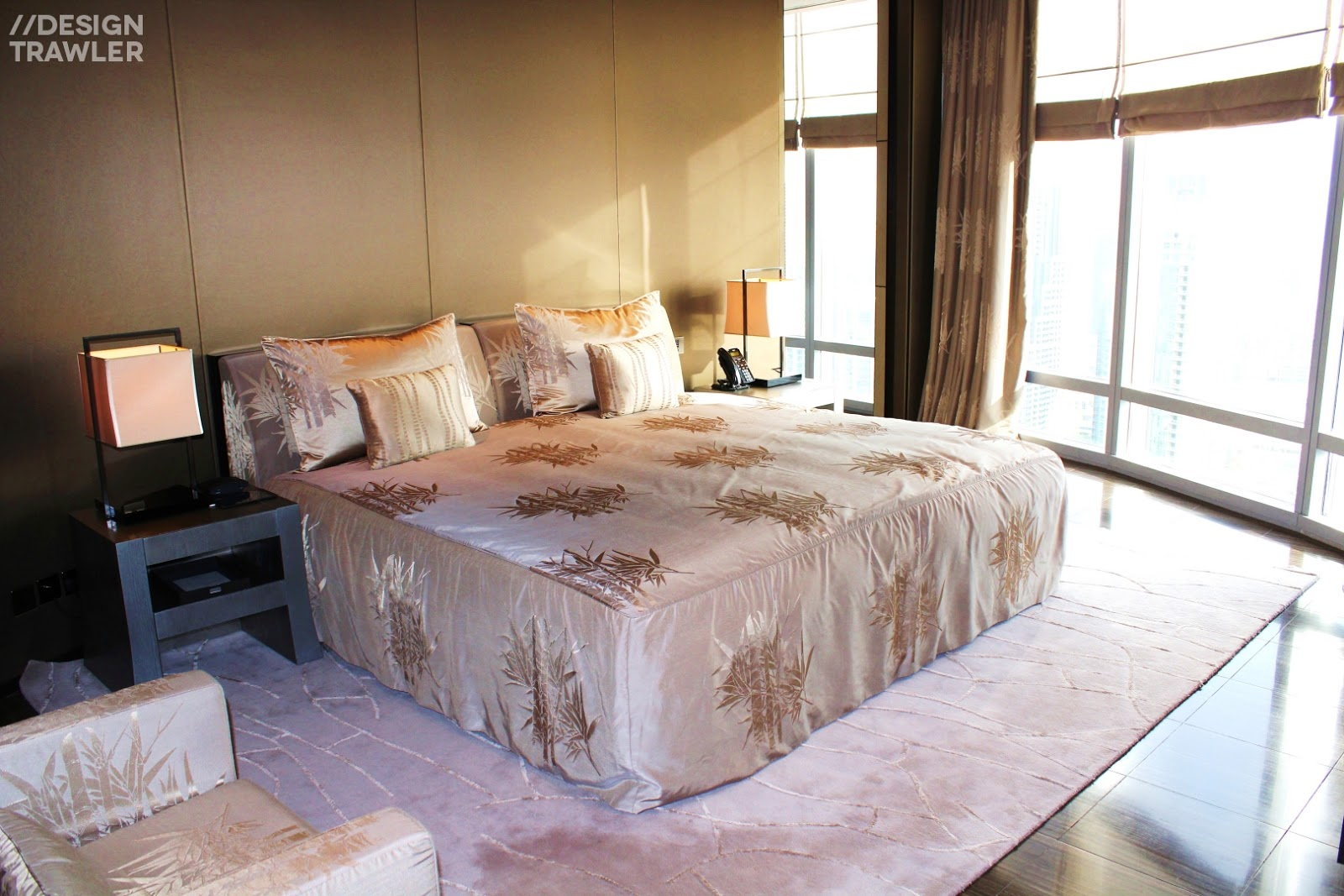 Design Trawler Destination Dubai Armani Hotel Is A Triumph - Armani bedroom design