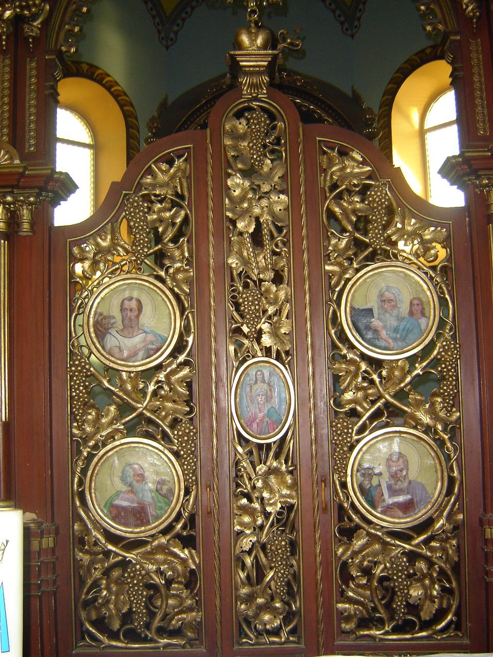 Carskie wrota w kościele Szlachtowa
