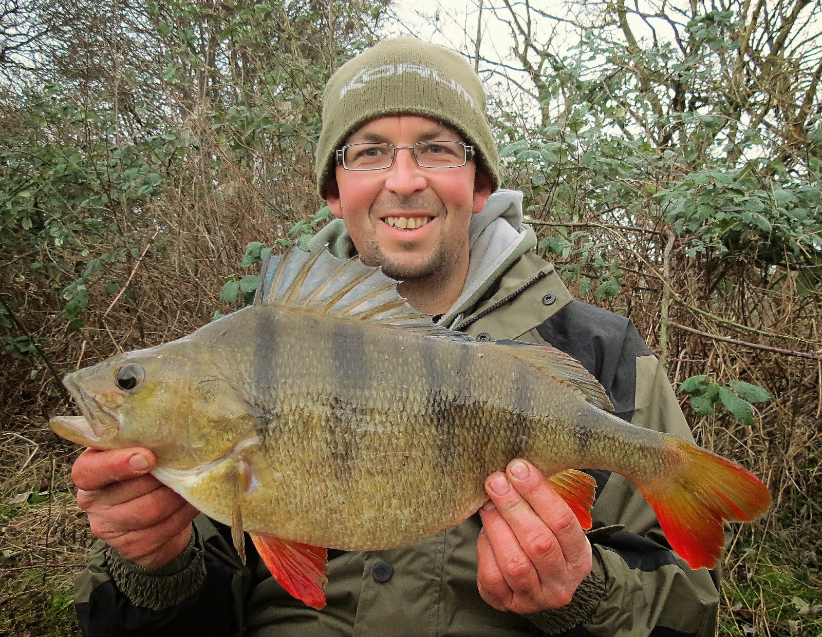 4lb river perch monster