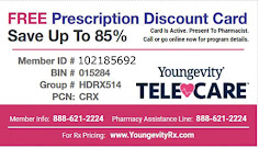 PRINT & USE RX Card