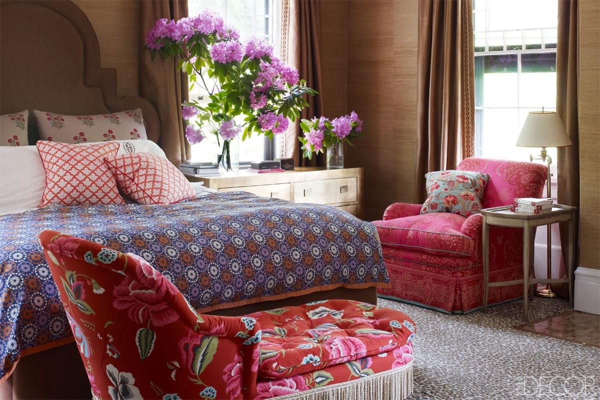 Deko und Design im Wohnen ergibt sich aus Farbe und Muster