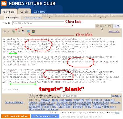 Thẻ chỉnh sửa HTML
