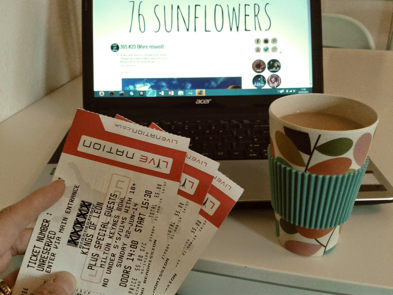 Project 365 day 144 - KOL tickets! // 76sunflowers