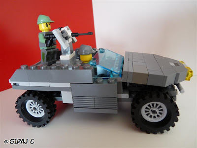 Lego - Halo Warthog