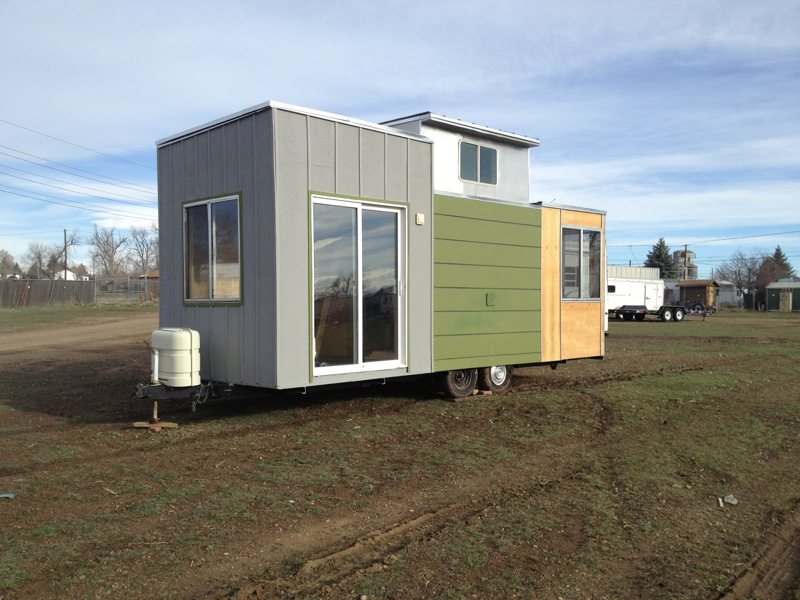 The adventure of turning an old camper into a tiny house on wheels the evolution continues - Small houses wheels home getaway ...