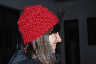 bonnet crochet drops andes carofoliz rapide