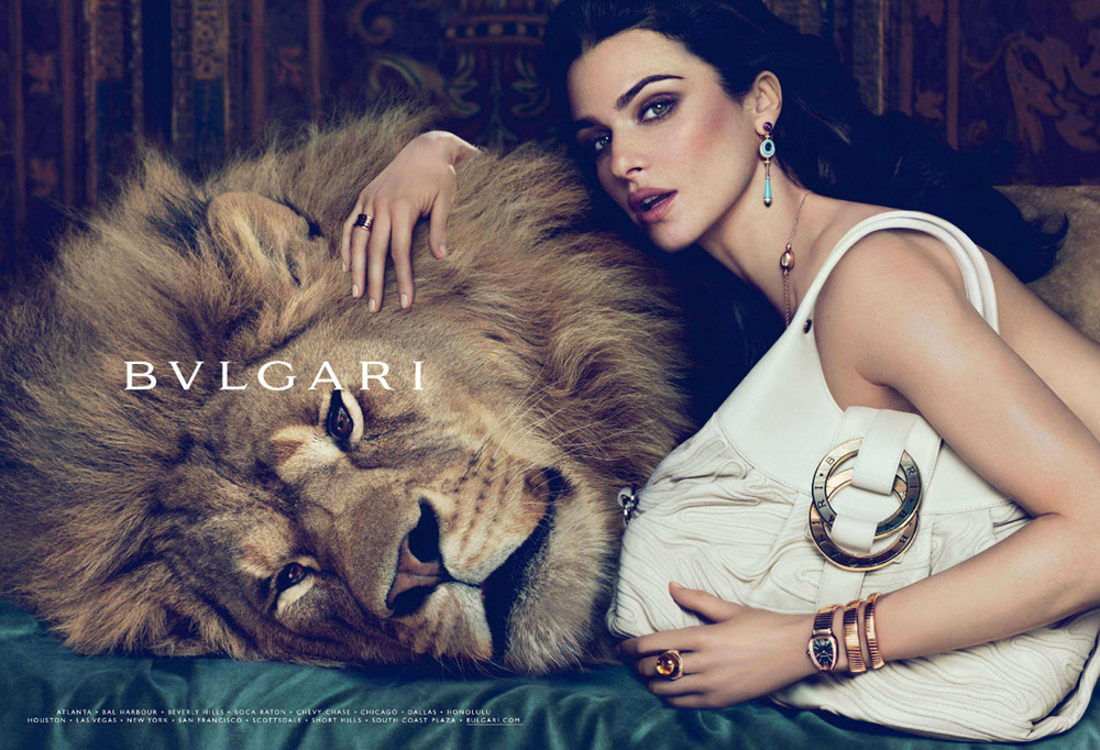 Rachel Weiss and Bvlgari