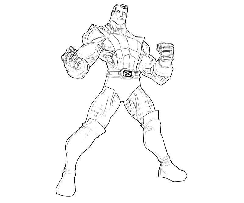 XMen Colossus Characters Part
