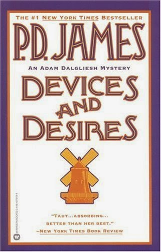 Devices and Desires (Published in 1989) - Authored by PD James - A mass murderer