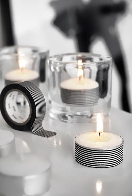 http://trendenser.se/2012/september/pimpa-dina-varmeljus-med-washi-tejp.html