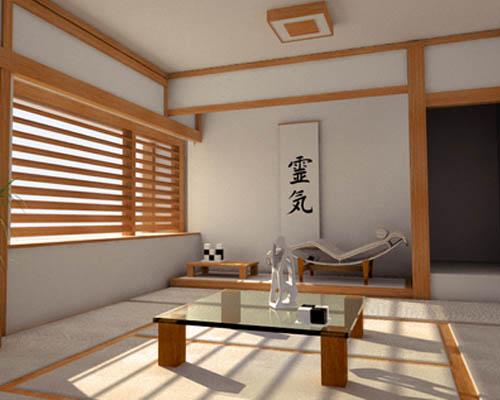 Desain Rumah Oriental dan Interior Minimalis