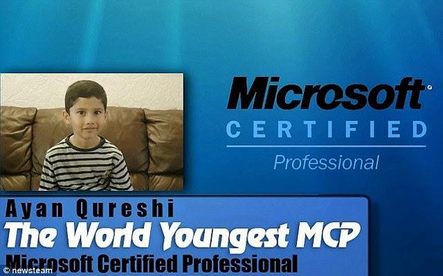 Ayan Qureshi Anak SD Ahlinya Microsoft 3