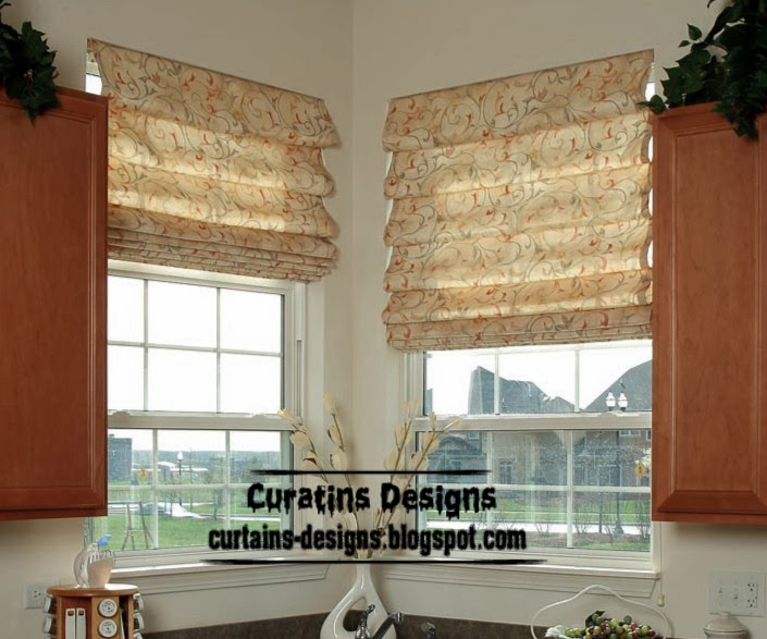 Kitchen blinds and shades 2017 grasscloth wallpaper for Kitchen roman blinds contemporary