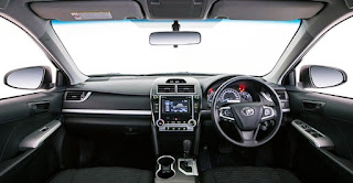 2016 Toyota Camry Altise Review Interior