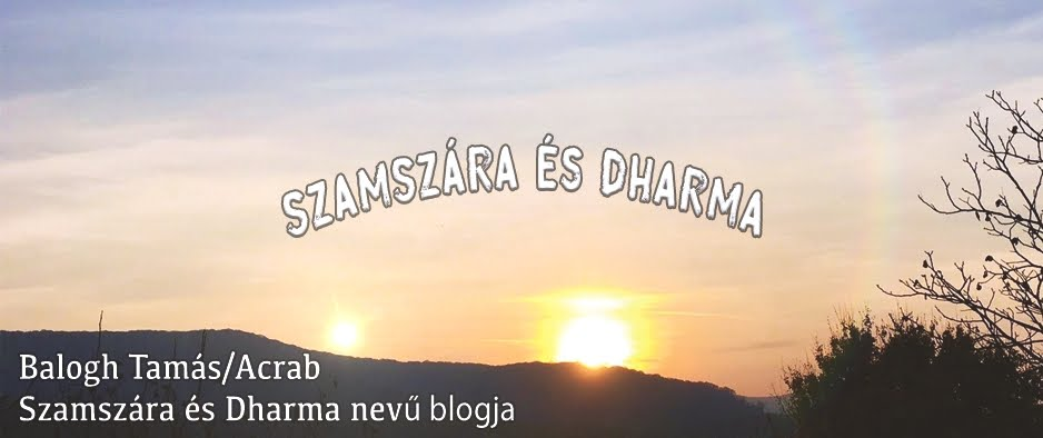 Szamszára és Dharma