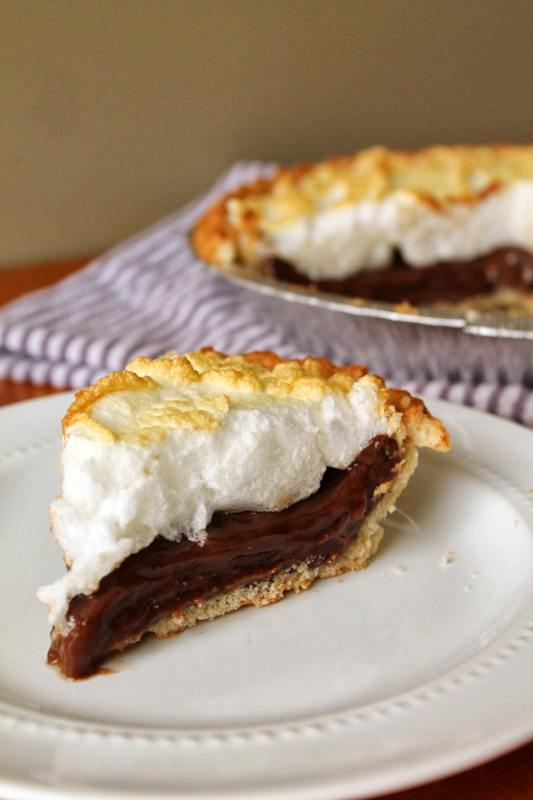 Old Fashion Chocolate Pie | My Grandmother's Recipes Louisiana Bride