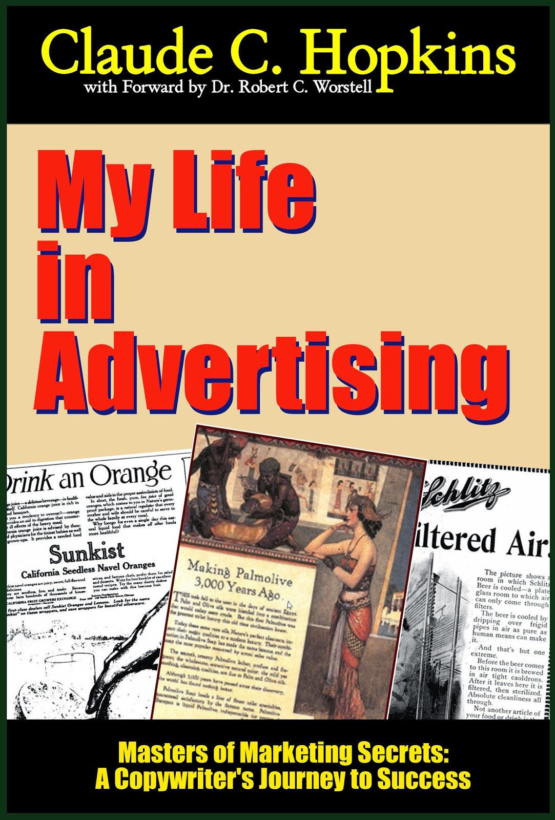 Claude Hopkins My Life in Advertising - new ebook version