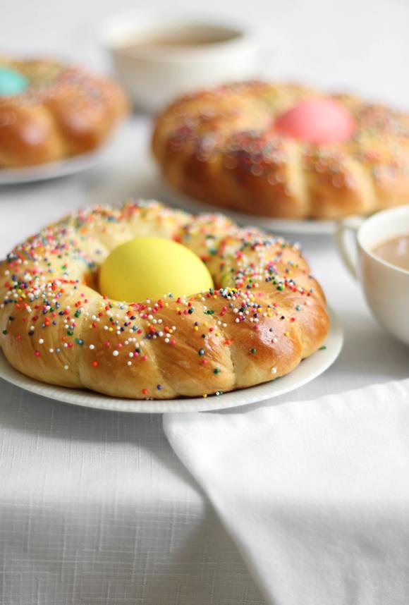 Italian Easter Bread | Sprinkle Bakes