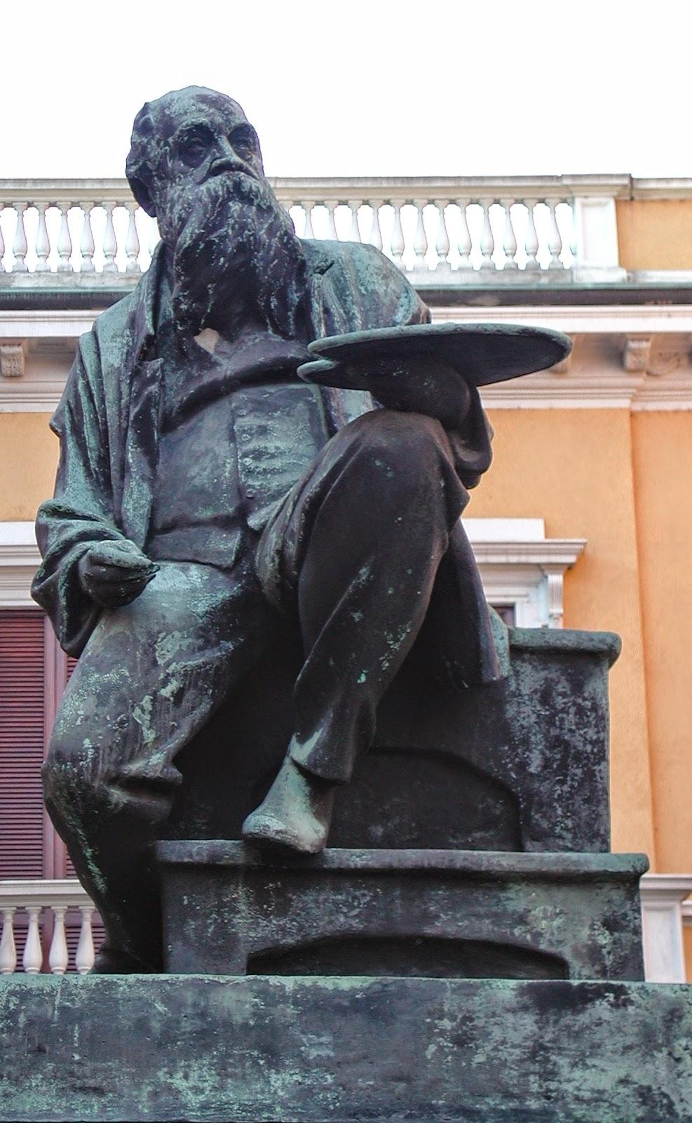 Mosè Bianchi - Statua a Monza