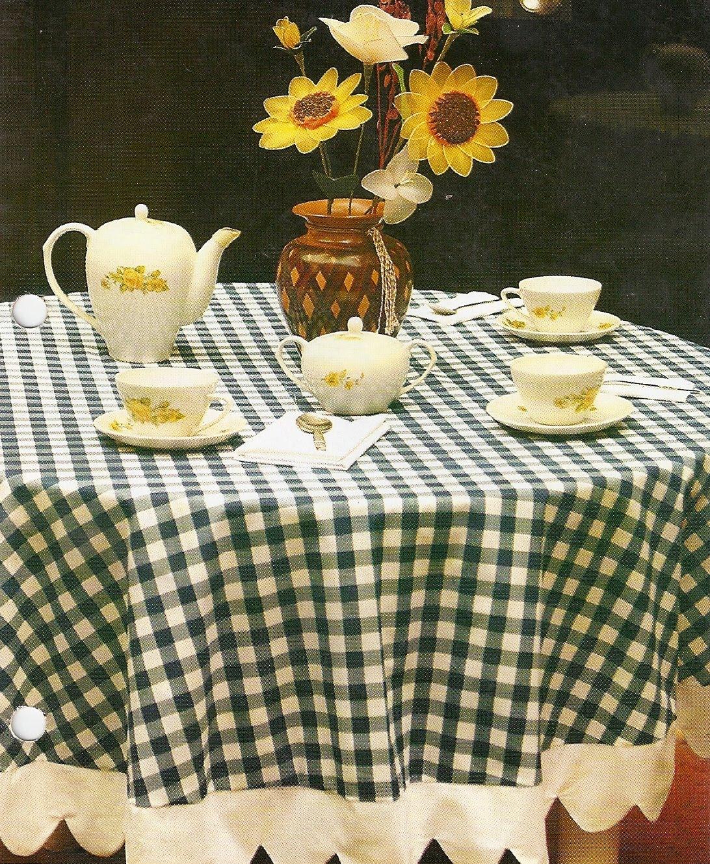 Como hacer un mantel para mesa redonda for Manteles de mesa