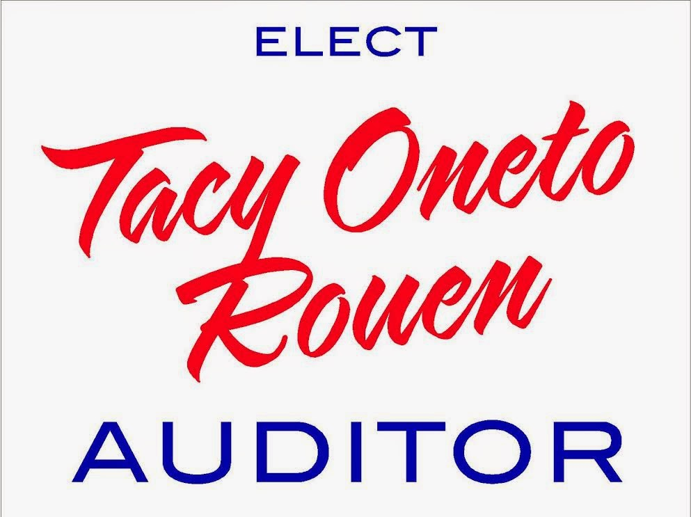 Tacy Oneto Rouen for Auditor