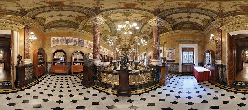 Operaház Királyi lépcső