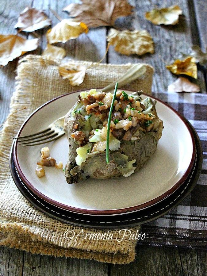 Sweet Jacket Potatoes - Patate Americane al Cartoccio di Armonia Paleo
