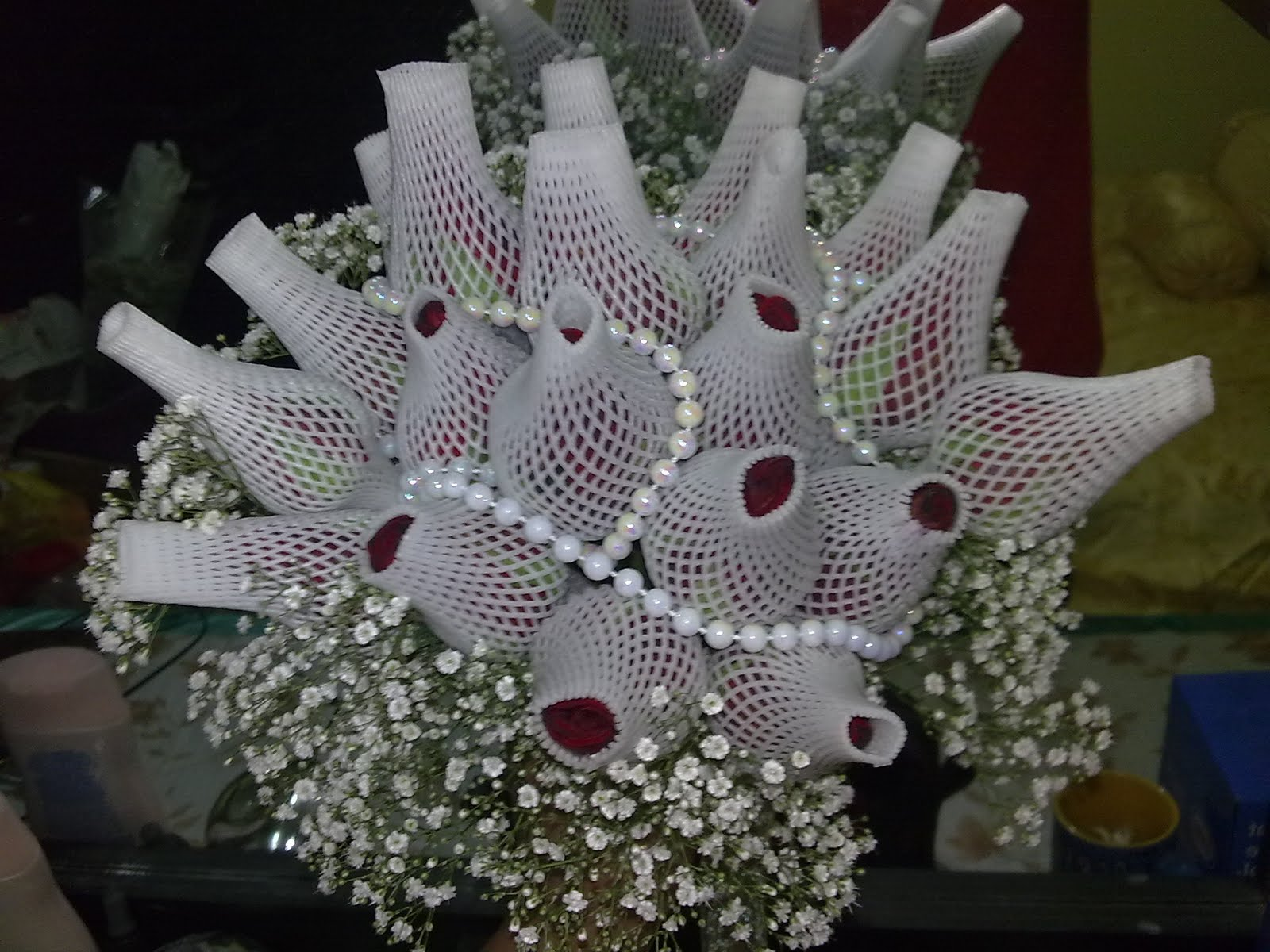 eMaH SoMeL: Project D.I.Y: hand bouquet..Fresh flower murah for ...