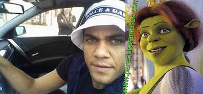 Dani Alves con Fiona