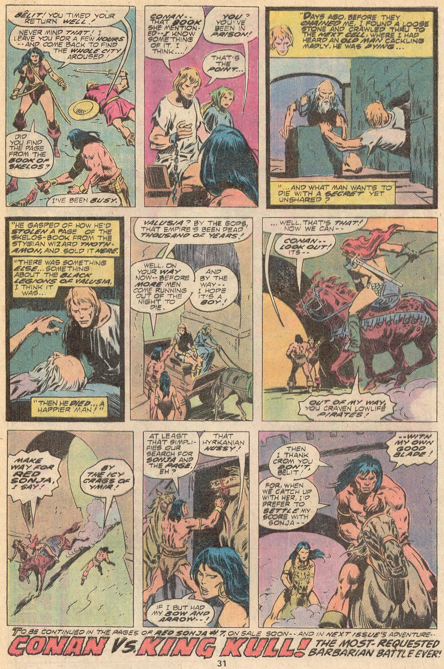 Conan the Barbarian (1970) Issue #67 #79 - English 20