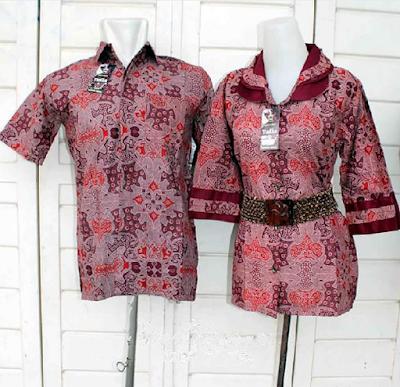 Model Baju Batik Couple Untuk Pesta Atau Kondangan