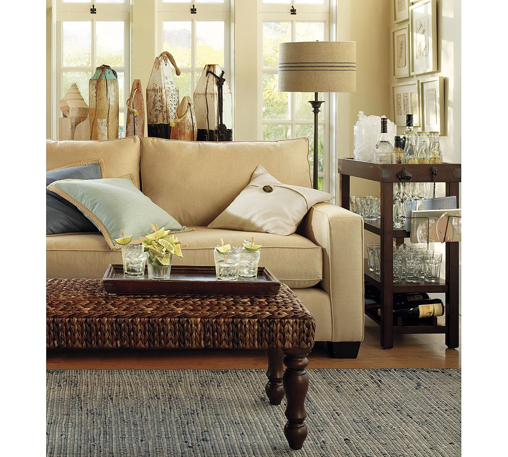 Pottery barn stepford wife how do you do it all home - Cool pottery barn living room designs ...
