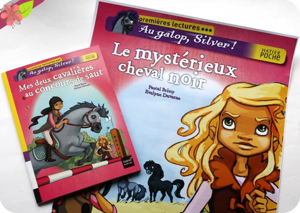 """""""Au galop, Silver : Mes deux cavalières au concours de saut"""" - Pascal Brissy et Evelyne Duverne - Hatier jeunesse"""