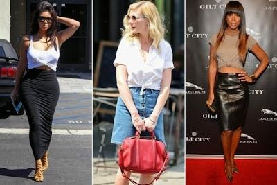 Style Trick  Ο πιο cool τρόπος να φορέσεις σήμερα την ψηλόμεση φούστα σου! 7078c5536bf