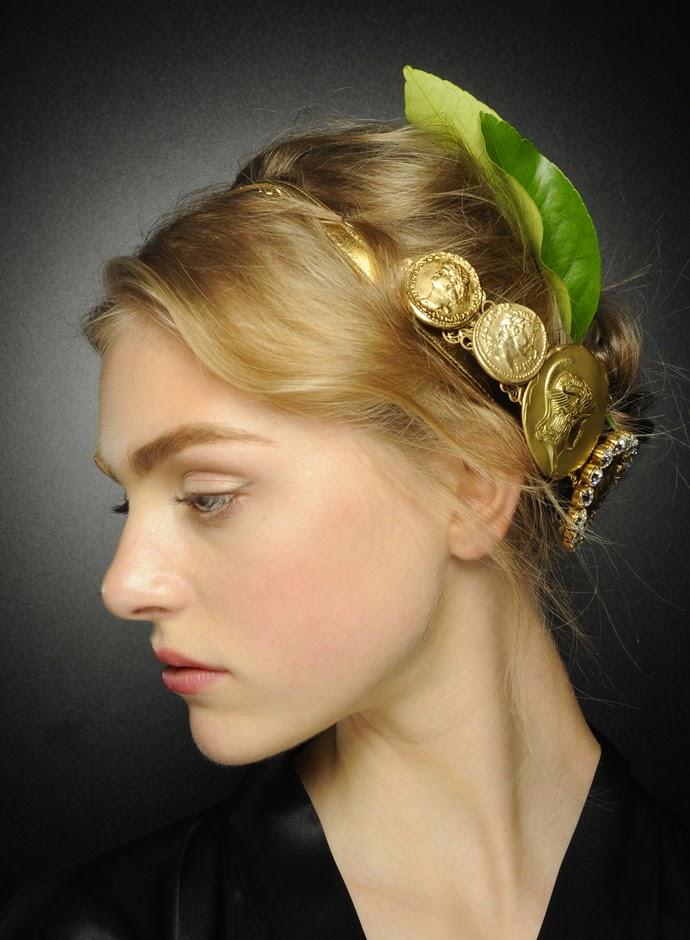 Tuba Edman: Dolce&Gabbana SS14 Womens: Hairstyles