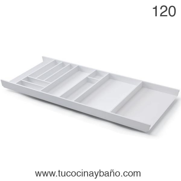 cubertero cajon cocina 120 blanco