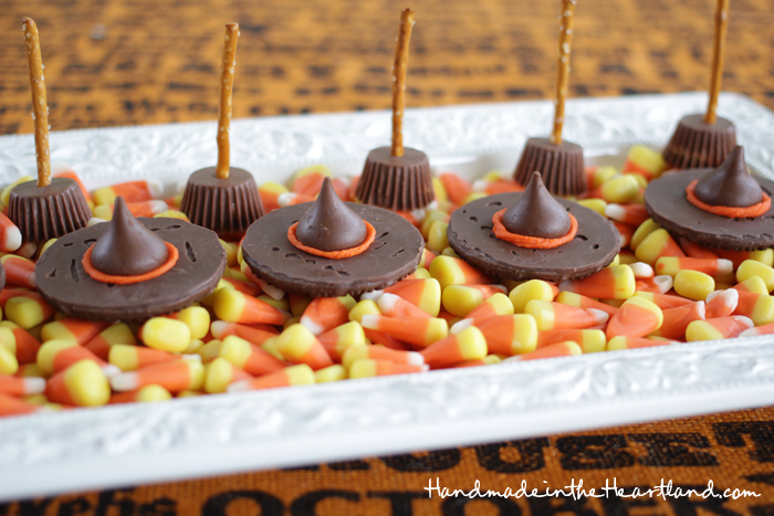 Candy Witch Hats & Broomsticks