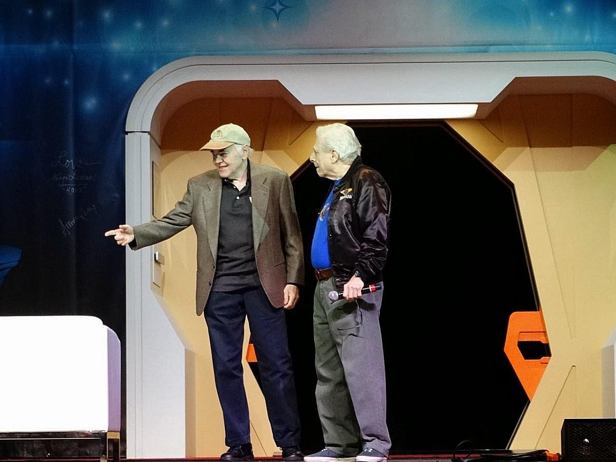 Star Trek Prop, Costume & Auction Authority: Walter Koenig On Stage ...