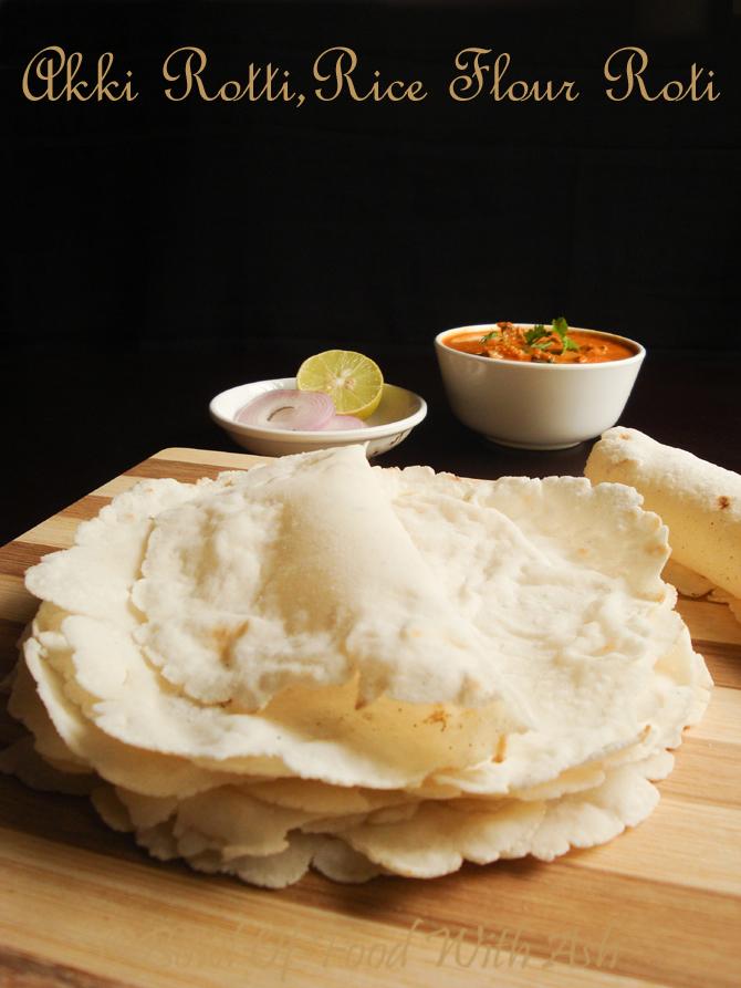Akki Rotti Recipe | Akki Roti | How To Make Rice Flour Roti