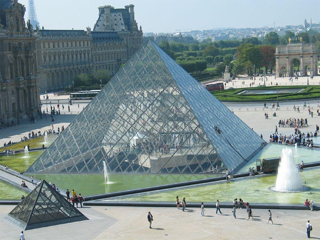 La france sous la ve r publique - Inauguration pyramide du louvre ...